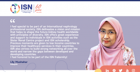Read Lily Mushahar's story, Member of the ISN